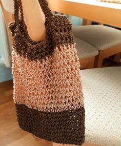 Hnědá síťovka Crochet, Accessories, Fashion, Backpack, Moda, Fashion Styles, Ganchillo, Crocheting, Fashion Illustrations