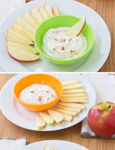 Apple Dippers with Honey Yogurt | 30 Healthy After School Snacks for Kids | Quick and Easy After School Snacks for Teens