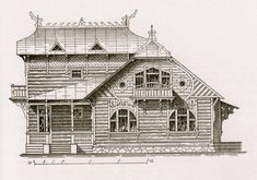 The Art Nouveau Dacha, Russia's wooden weekend houses   The Arts Desk