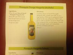 Pineapple orange margarita