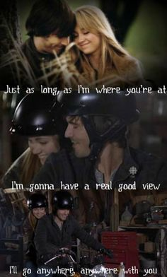 Anywhere with You :) - Jake Owen (Amy & Ty from Heartland ❤️) Watch Heartland, Heartland Quotes, Heartland Amy, Heartland Ranch, Ty And Amy, Tell My Story, Jake Owen, Country Girl Quotes, Amber Marshall
