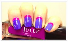 Purple /pink cuticle