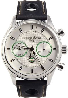 Frederique Constant Men's FC397HS5B6 Vintage Rally Swiss Automatic Silver Watch