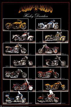 Motocicleta, Harley Davidson Posters na AllPosters. Harley Davidson Posters, Classic Harley Davidson, Harley Davidson Motorcycles, Bike Poster, Motorcycle Posters, Scrambler Motorcycle, Motorcycle Style, Motorcycle Gear, Enfield Motorcycle