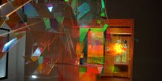 Fragmentation - Diffraction polychromatique | Etienne Rey. #digital #installation