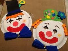 Résultats de recherche d'images pour « clown knutselen »