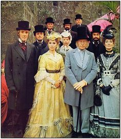 THE PALLISERS , 1974 BBC television adaptation of Anthony Trollope's Palliser novels. Set in Victorian era England with a backdrop of parliamentary life, Simon Raven's dramatisation covers six of Anthony Trollope's novels and follows the events of the characters over two decades. Wonderful viewing! I watched this as a teenager and was so riveted I then devoured the books.