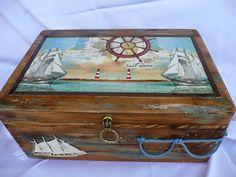 Fabryczka hand made by I.B.: Morskie klimaty...