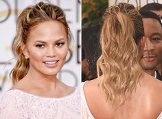 8 Ponytail Ideas to Try This Spring - Tousled from #InStyle