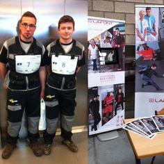 Aujourd'hui, les apprentis mécaniciens du concours Concours du Porte-clés d'or sont en #Lafont ! Retrouvez-nous au centre Autoform de #Liège !
