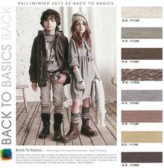 Цвета на осень-зиму 2013-2014 для детей | Stilouette Услуги стилиста онлайн, в Германии и во Франкфурте