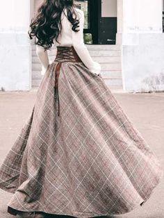 Pretty Outfits, Pretty Dresses, Beautiful Dresses, Old Fashion Dresses, Fashion Outfits, Swag Fashion, Steampunk Fashion, Gothic Fashion, Modern Victorian Fashion