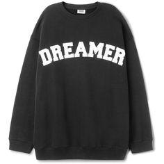 Kalin Print Sweatshirt ❤ liked on Polyvore featuring tops, hoodies, sweatshirts, sweaters, drop shoulder tops, crew neck top, patterned tops, patterned sweatshirt and crew-neck sweatshirts
