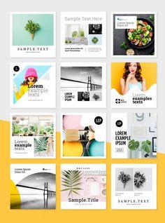 Social Media (Instagram) Post & Story Templates