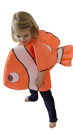 Clown Fish custome. Finding Dory Nemo inspired. Pageant outfit Finding Nemo Costume, Finding Dory, Pageant, Fish, Costumes, Inspired, Trending Outfits, Vintage, Products