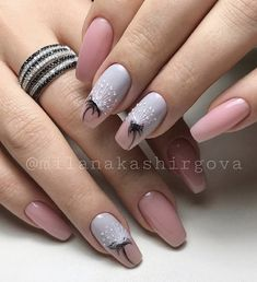 136 amazing natural summer square nails design for short nails page 30 prod Glam Nails, Pink Nails, Beauty Nails, Cute Nails, Pretty Nails, Creative Nail Designs, Acrylic Nail Designs, Nail Art Designs, Nails Design