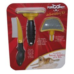 This works fabulously on my shar peis!  Fab.com | Multi Groom Combo Pack