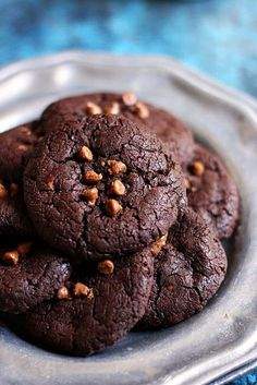 brookies recipe with step by step photos. Learn how to make dense, rich and gooey eggless brookies or brownie cookies with this easy recipe. Eggless Brownie Recipe, Eggless Cookie Recipes, Brookies Recipe, Eggless Desserts, Eggless Baking, Brownie Recipes, Cheesecake Recipes, Chocolate Recipes, Easy Desserts