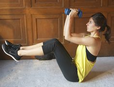 Arm (+Core) Hand Weight Workout