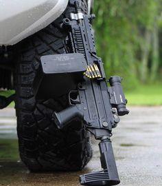 SAW pistol from @machinegunarmory -