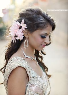 #Hair #Makeup | Beautiful Indian Brides