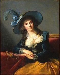 Comtesse Louis-Philippe de Segur, Elisabeth Vigée-Le Brun, 1785; Versaille MV 5962 ; RF 2455