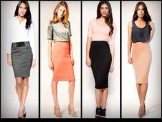 Falda de tubo | Tendencias Otoño-Invierno | Imagen 1    me encantan las faldas de tubo!