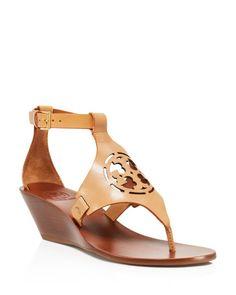 5f2cddeefccca6 Tory Burch Zoey Wedge Sandals Patent Heels