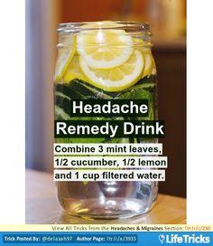 Headaches & Migraines - Headache Remedy Drink