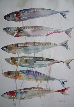 ATELIER DE LA PETITE MER : poissons