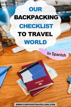 Let's discuss in this post how we prepared for our trip around the world with this ultimate backpacking checklist. #funfoodtravelling #backpacking #checklist Europe Travel Tips, Travel Destinations, Backpacking Checklist, South America Travel, Winter Travel, Plan Your Trip, Where To Go, Continents, How To Plan