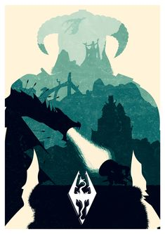 The Elder Scrolls V: Skyrim poster The Elder Scrolls, Elder Scrolls Online, Elder Scrolls V Skyrim, Video Game Posters, Video Game Art, Oblivion, Fallout, Skyrim Wallpaper, Spongebob