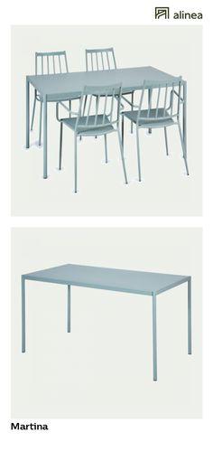 alinea :  martina table de jardin verte en acier (4 à 6 places)   toutes les promos du moment meubles de jardin   - #Alinea #Décoration #Jardin #Table #Vert #Acier - inspiration meubles et déco