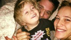 La tierna foto de Luisana Lopilato tras la recuperación de Noah