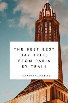 These are the nine best day trips from Paris by train — from the expected must-dos (like Giverny and Versailles) to some truly under-the-radar spots, like the Vexin. Also included: some far-flung spots accessed by TGV high-speed trains. Versailles, Cool Places To Visit, Places To Travel, Travel Destinations, Day Trip From Paris, Paris Travel Guide, Travel Guides, Triomphe, Famous Places