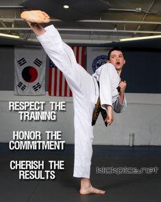 KickPics.net // karate quote