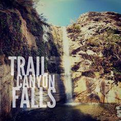 Trail Canyon Falls, Los Angeles County