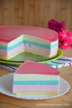 Server is not to eat. Polish Desserts, Polish Recipes, Just Desserts, Delicious Desserts, Yummy Food, Fruit Recipes, Cookie Recipes, Easy Bruschetta Recipe, Layered Desserts