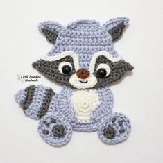 Crochet Bunny, Crochet Animals, Crochet Yarn, Crochet Hooks, Half Double Crochet, Single Crochet, Crochet Applique Patterns Free, Elephant Applique, Crochet Hook Sizes