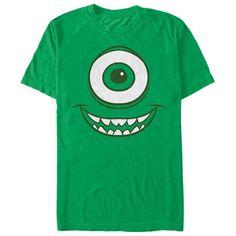Mike Wazowski Eye Kelly Green Monsters Inc. Disney T Shirt | Buy at https://www.sunfrog.com/Mike-Face-Ladies.html?6987
