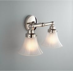 RH's Chatham Double Sconce:Chatham features ball-and-spool finials, soft angles and a timeless style.
