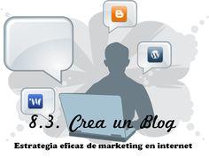 Crea un blog #Marketing #Blog #Publicidadonline #marketingweb