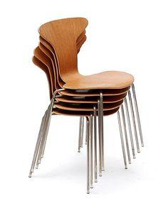 Mosquito Chairs (3105) Arne Jacobsen 1955 by Fritz Hansen / Denmark