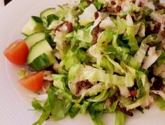 Diner – Koolhydraatarm Cooking Recipes, Healthy Recipes, Lettuce, Cobb Salad, Potato Salad, Cabbage, Keto, Food And Drink, Low Carb