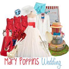 Mary Poppins Wedding - Polyvore