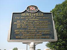 HUNTSVILLE ~the first | Flickr - Photo Sharing!