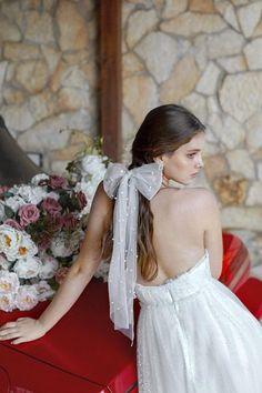 Arco di perla Arco Barrette copricapo da sposa da sposa | Et