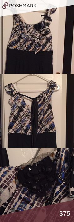 Bcbg cocktail dress I've loved this dress ever since I first saw it in the store. Perfect for a wedding or any dressy affair! Kept in excellent condition! BCBGMaxAzria Dresses Midi