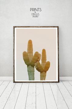Cactus Art Cacti Print Cactus Poster Cactus by PrintsMiuusStudio