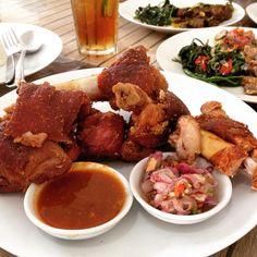 yummyyy... Crispy patta pork  #foodporn #asianfood #instafood #porkknuckle #jogja by ranggoro #haxenhaus #people #food